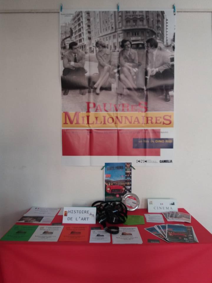 Comité dante Alighieri Montauban Journée portes ouvertes 2016