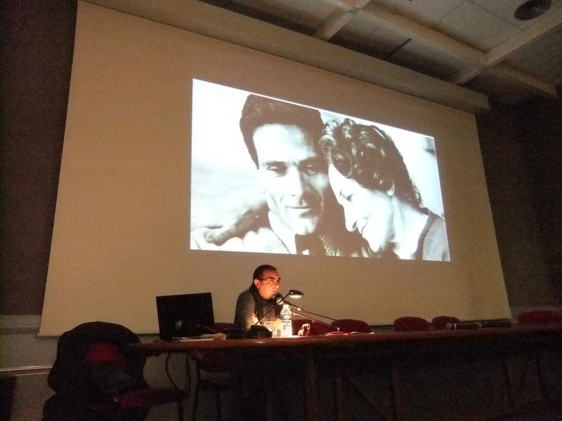 CONFERENCE de Flaviano PISANELLI « Pier Paolo PASOLINI et ROME » 19 Novembre 2013